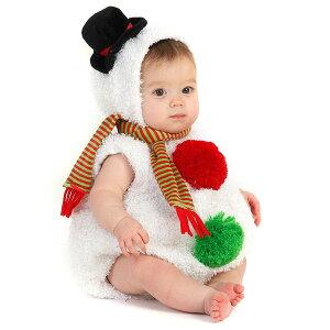 クリスマス 赤ちゃん コスチューム 雪だるま