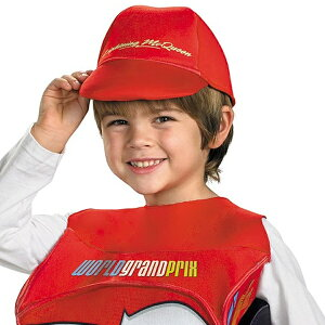ディズニーカーズ2ライトニング・マックイーンデラックスコスチュームハロウィーン子供服子供用コスプレ衣装【SBZcou1208】