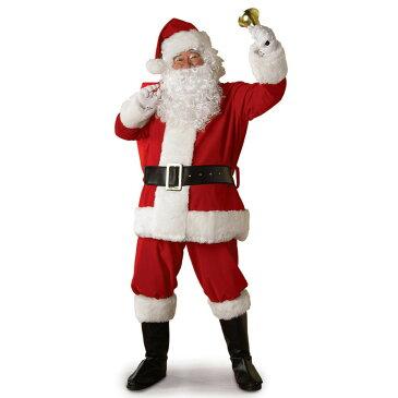 サンタクロース コスプレ 衣装 レガシーサンタ メンズ スーツ 大人用コスチューム