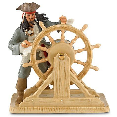 ホワイトデー ギフト 贈り物 レノックス (LENOX)製ディズニー公式 フィギュア カリブの海賊 キャプテン・ジャック・スパロウ 仮装:アカムス