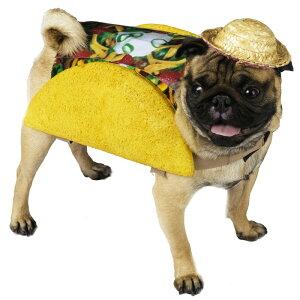 ハロウィン 犬 服 着ぐるみ コスプレ コスチューム 食べ物 タコス メキシカン タコベル TACOBELL