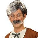 ピノキオ おじいさん ゼペットじいさん ウィッグ ひげ ハロ...