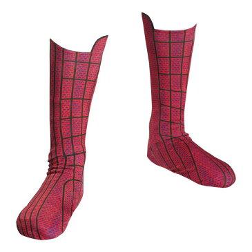 スパイダーマン コスプレ 子供 キッズ ソックス 靴下 シューズカバー ブーツカバー アメイジング・スパイダーマン コスチューム 衣装