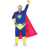 ハロウィン 大きいサイズ 花見 宴会 二次会 イベント パーティー ビール スーパーマン 飲み会 プラスサイズ おもしろ ウケる 大人用 コスチューム