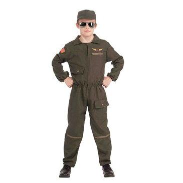 ハロウィン ミリタリー 衣装 コスチューム ミリタリージャケット 戦闘機 パイロット 兵士 子供用コスチューム