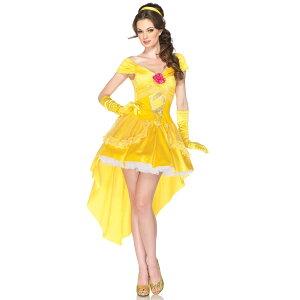 ディズニープリンセス美女と野獣衣装ベル大人用コスチューム