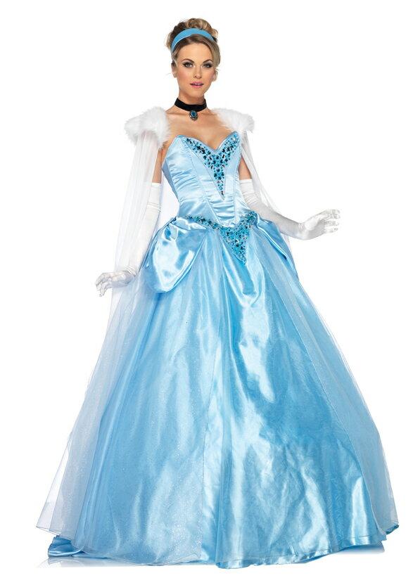 ハロウィン シンデレラ コスプレ ディズニーストア プリンセス 衣装 シンデレラ 公式大人用ドレス【stamprally_0313】:アカムス