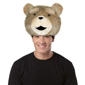 テッド帽子ぬいぐるみ正規品ふわふわTedハットキャップ