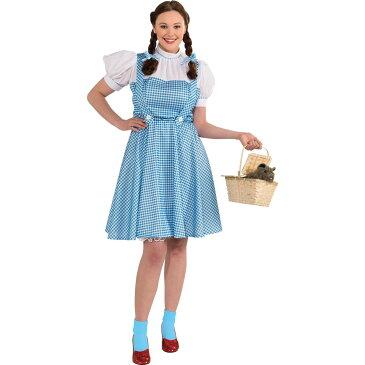 ディズニー コスチューム 大人 オズの魔法使い ドロシー プラスサイズ 大きいサイズ ハロウィン衣装