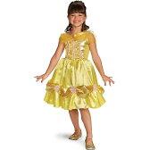 美女と野獣 衣装 ベル 子供用 コスチューム クラシック キラキラ ハロウィン プレゼント ディズニー プリンセス