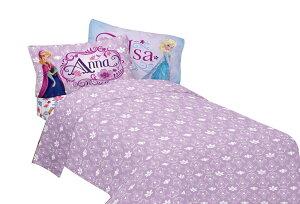 ディズニーアナと雪の女王グッズエルサとアナ3点ベッドシーツセット(シングル)