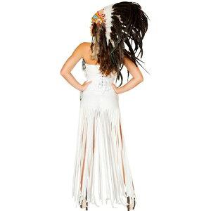 セクシーチェロキーインディアン女王コスチューム大人女性ハロウィンネイティブアメリカンミストレス衣装