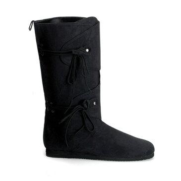 レディース 靴 大きいサイズ もある ハロウィン 雑貨 グッズ プリーザー社製 ブーツ ルネッサンス-120 ブラックハロウィン 雑貨 グッズ