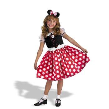 【通常便なら送料無料】ハロウィン 衣装 子供 ディズニー 用 ミニー・マウス 子供用コスプレ衣...