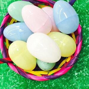 イースターエッグイースターグッズプラスチックたまご卵パステル144個入り約5cm