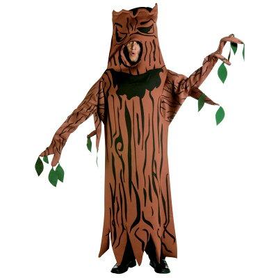 【通常便なら送料無料】恐怖の木のお化け 木 着ぐるみ 大人用コスチューム ハロウィン