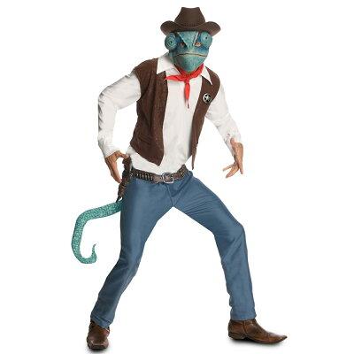 【通常便なら送料無料】ランゴ カメレオン カウボーイ 大人用 コスチューム/Rango - Cowboy Ran...