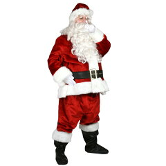【通常便なら送料無料】サンタ 衣装 コスプレ コス クリスマス サンタクロース 高級 大人用サン...