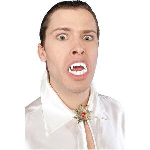【通常便なら送料無料】吸血鬼 牙 仮装 グッズ 歯 付け歯 キバ バンパイアの牙 大人用 吸血鬼 ...