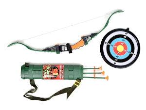 アーチェリー 弓矢 ハンター なりきり ハンティング 猟 おもちゃ 子供用 アロー セット 吸盤 マックスアクション