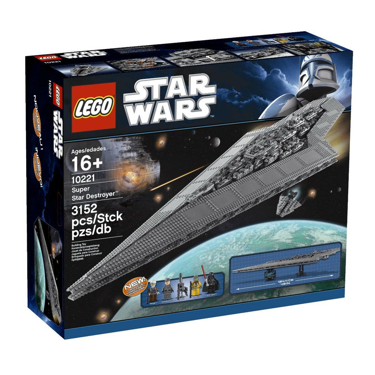スターウォーズ レゴ LEGO スーパースターデストロイヤー 模型 おもちゃ 10221