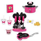ディズニー (Disney)ミニーマウス グルメクッキングセット お料理 子供 かわいい フライパン 鍋