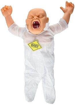 泣く 赤ちゃん 人形 怖い 飾り キモい 恐怖 笑い ジョーク 迷惑 デコレーション ハロウィン 肝試し お化け屋敷