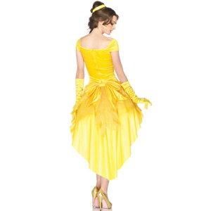 ハロウィンベルドレス美女と野獣ディズニーコスプレ衣装コスチューム大人女性セクシー