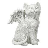 猫 ペット 動物 お墓 メモリアル グッズ 石 置き物 Lサイズ