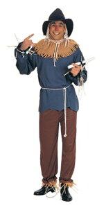 映画「オズの魔法使い」かかしコスチューム【ハロウィン・パーティー】コスプレ衣装大人用t6459