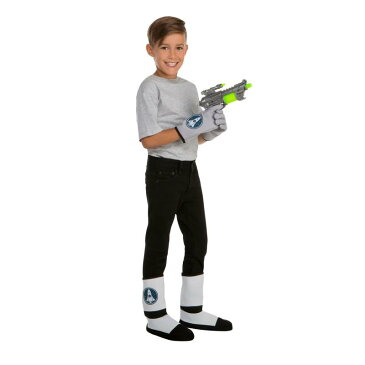 宇宙戦士 宇宙飛行士 子供 コスプレ 仮装 手袋 靴カバー 銃 セット ハロウィン 小道具 おもちゃ イベント ごっこ遊び