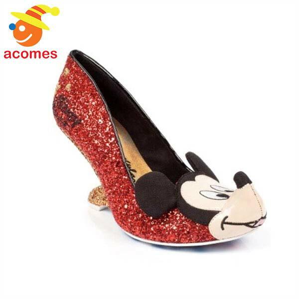 ミッキー マウス バックレスヒール 靴 イレギュラー チョイス x ディズニー コラボ IRREGULAR CHOICE
