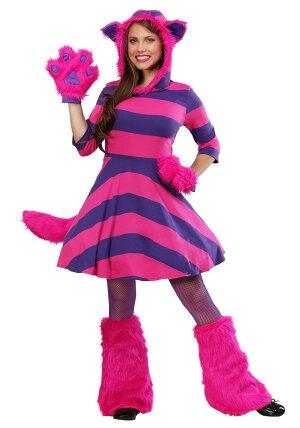 2509048e54ddd ふしぎの国のアリスチェシャ猫コスチューム大人レディースディズニーキャラクター動物コスプレ衣装仮装