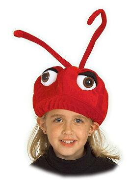 蟻 アリ 帽子 被り物 赤 子供 動物 仮装 コスプレ