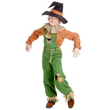 オズの魔法使い 案山子 子供 男の子 コスチューム かかし ハロウィン 衣装 イベント パーティー