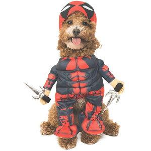 デッドプール コスプレ コスチューム 犬 ペット 衣装 Mサイズ 通常便は送料無料