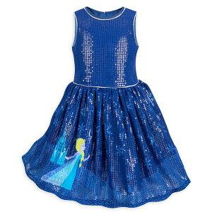 63fb5260b4d9e アナと雪の女王 エルサ 子供用 ワンピース ドレス 衣装 プリンセス ハロウィン ディズニー 通常便