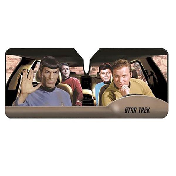 スタートレック サンシェード 車 フロント ガラス 日よけ サンシェイド カー用品 カーアクセサリー 宇宙大作戦 TOS 通常便は送料無料画像