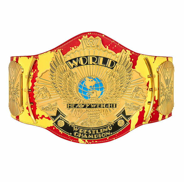 チャンピオンベルト WWE ハルクホーガン「ハルカマニア」シグネチャーシリーズチャンピオンシップレプリカタイトル 通常便は送料無料