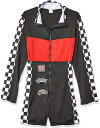 セクシー コスチューム 大人 ハロウィン コスプレ 衣装 レースクイーン キャンギャル風 レーサー 女性用ジャンプスーツ 3
