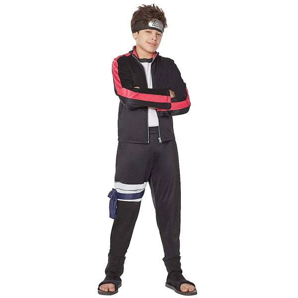 ナルト NARUTO コスチューム 子供 ボルト ハロウィン コスプレ 仮装 衣装 男の子 アニメキャラクター BORUTO-ボルト-NARUTO NEXT GENERATIONS 通常便は送料無料画像