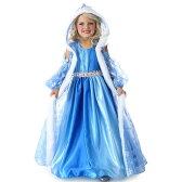 プリンセス 雪の女王 お姫様 アナと雪の女王 エルサ風 ブルー ロングドレス 子供用 女の子用 ハロウィン コスプレ コスチューム 衣装