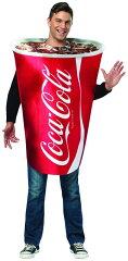 コカ・コーラ 紙コップ コスチューム ハロウィン コーラ カップ 飲み物 コスプレ パ…