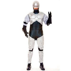 ロボコップ 大人 男性用 コスチューム 衣装 ハロウィン コスプレ 仮装 ポリス ロボット 警…