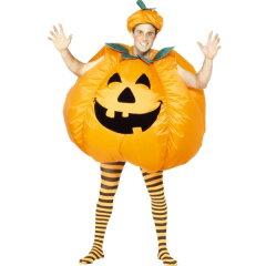 かぼちゃ 膨らむ コスチューム おもしろ 衣装 パンプキン ハロウィン 大人用 着ぐるみ コスプレ 仮装