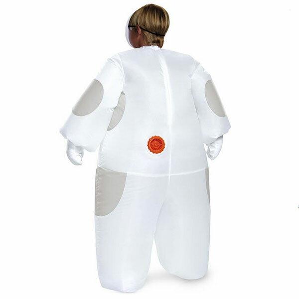 ベイマックス着ぐるみコスチュームディズニーコスプレ子供キッズ白いベイマックスの膨らむコスチューム