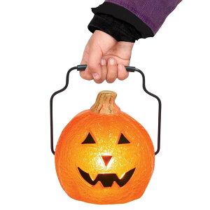 【通常便なら送料無料】ハロウィン 装飾 かぼちゃ ハンドル付 ランタン パンプキンハロウィン ...
