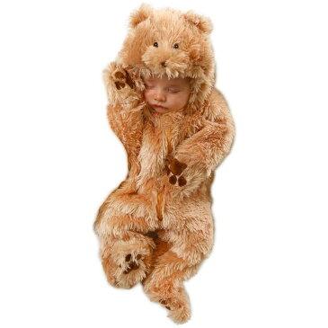 赤ちゃん ベビー 可愛い コスチューム くま ベアー 動物 ジャンプスーツ 着ぐるみ ハロウィン コスプレ コスチューム 衣装 グッズ