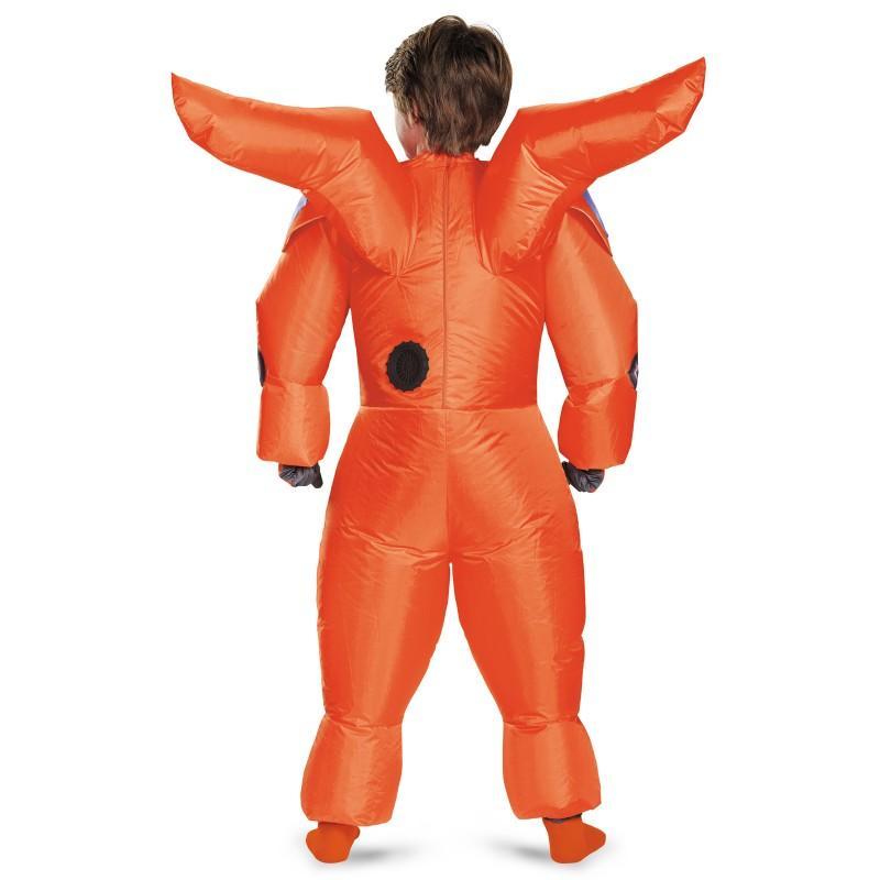 ベイマックスコスチュームコスプレ子供ディズニー仮装膨らむ赤いベイマックスのジャンプスーツ