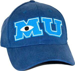 モンスターズインクモンスターズユニバーシティ帽子キャップキッズ子供ディズニーDisneyアパレルスナップバックMU